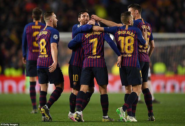 Xác định hai cặp đấu bán kết Champions League-1
