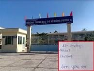Hậu Giang: Nhiều học sinh trường chuẩn quốc gia không biết đọc, biết viết