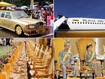 Quốc vương Brunei: Ba vợ 12 con và huyền thoại máy bay dát vàng, đội siêu xe vô đối toàn cầu