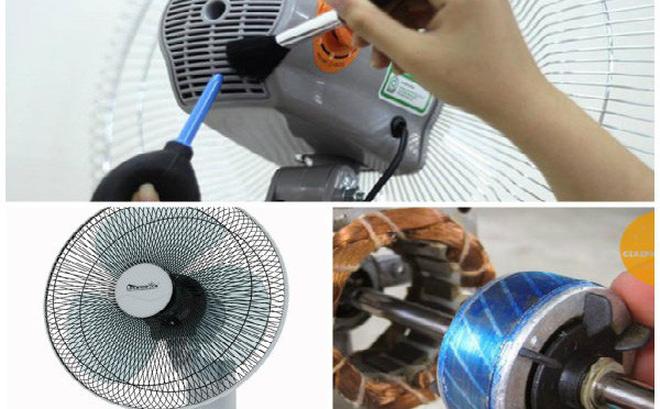 Quạt điện quay chậm, yếu và cách khắc phục tại nhà đơn giản, hiệu quả-1