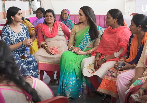 Xuất hiện bất ngờ trong đoạn video từ thiện tại Ấn Độ khi đang nghỉ thai sản, Meghan bị chỉ trích dữ dội vì lý do này-3