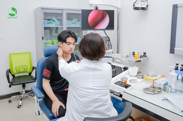 Miễn phí khám tai mũi họng ở Phòng khám ĐKQT Thu Cúc-2