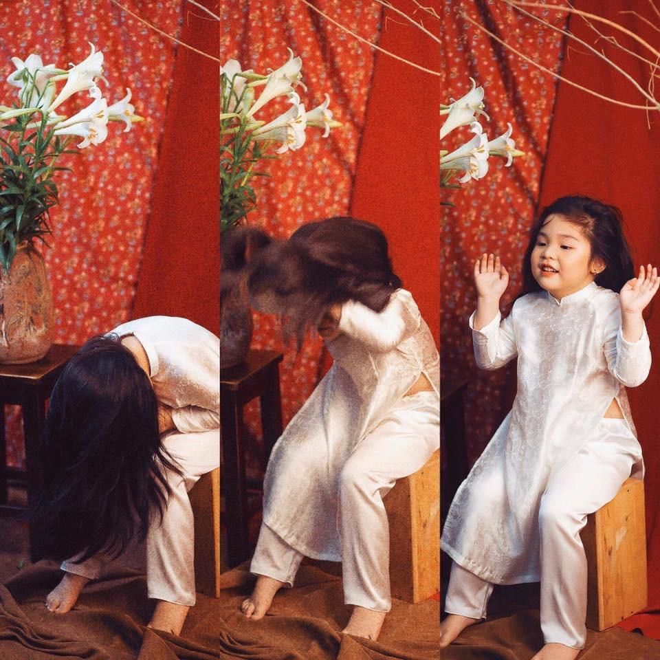 Sốt sắng lên kế hoạch cho con gái chụp bộ ảnh thiếu nữ bên hoa huệ, nhưng cái kết lại khiến mẹ trẻ khóc ròng-3