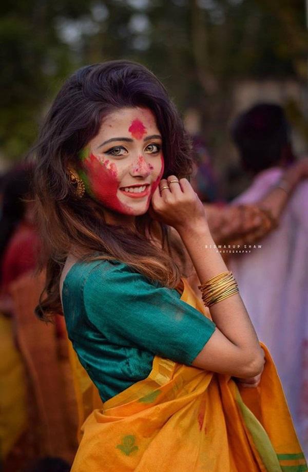 Xuất hiện trong lễ hội, thiếu nữ khiến cộng đồng mạng chao đảo vì nhan sắc đẹp tựa thần tiên-12