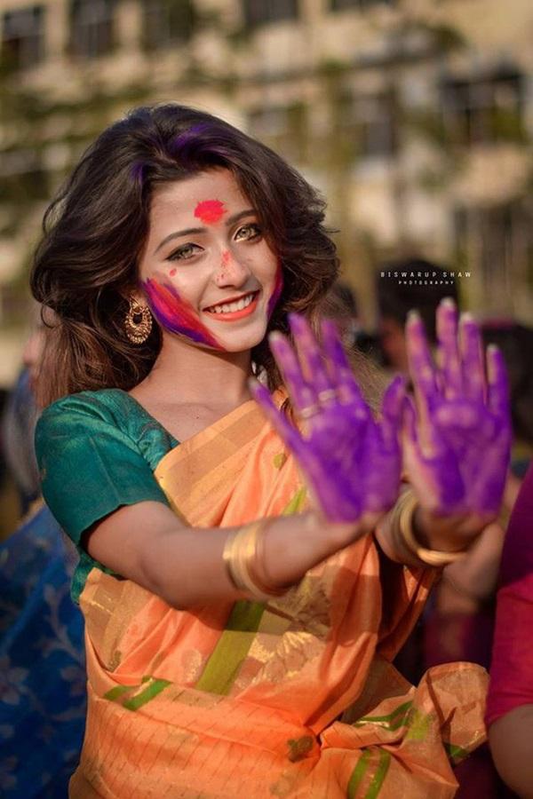 Xuất hiện trong lễ hội, thiếu nữ khiến cộng đồng mạng chao đảo vì nhan sắc đẹp tựa thần tiên-13