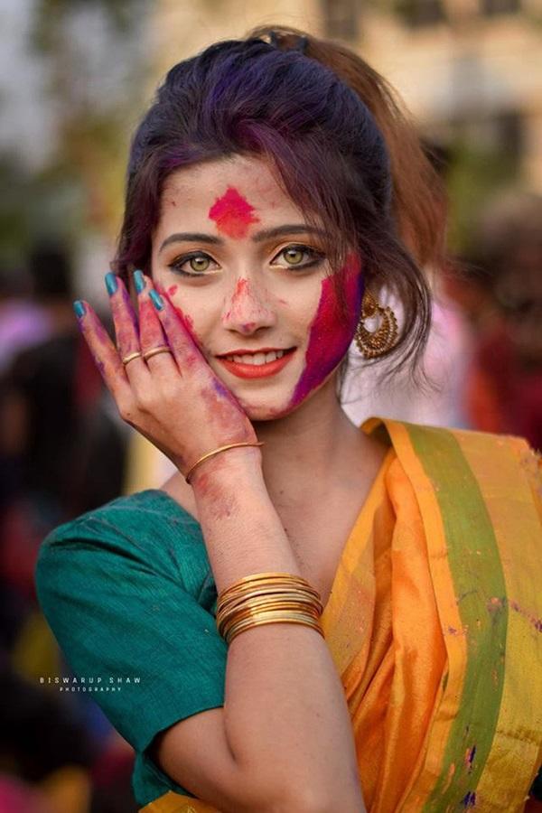 Xuất hiện trong lễ hội, thiếu nữ khiến cộng đồng mạng chao đảo vì nhan sắc đẹp tựa thần tiên-2