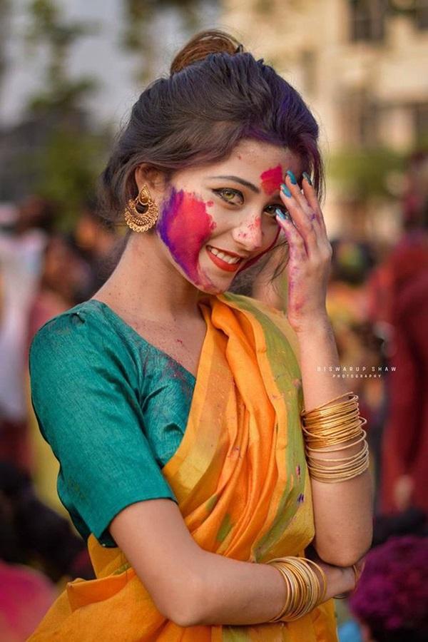 Xuất hiện trong lễ hội, thiếu nữ khiến cộng đồng mạng chao đảo vì nhan sắc đẹp tựa thần tiên-6