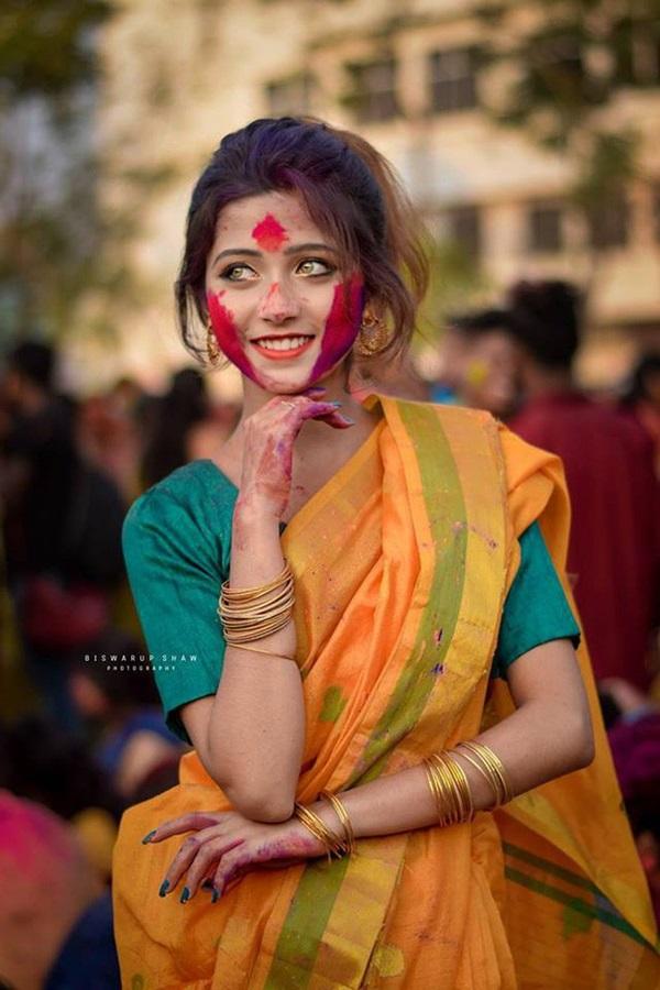 Xuất hiện trong lễ hội, thiếu nữ khiến cộng đồng mạng chao đảo vì nhan sắc đẹp tựa thần tiên-8