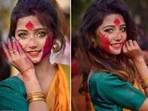 Xuất hiện trong lễ hội, thiếu nữ khiến cộng đồng mạng chao đảo vì nhan sắc đẹp tựa thần tiên