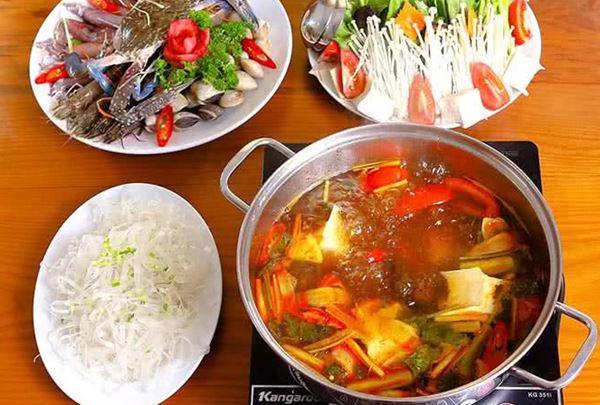 Cách nấu lẩu hải sản ngon, đơn giản-5