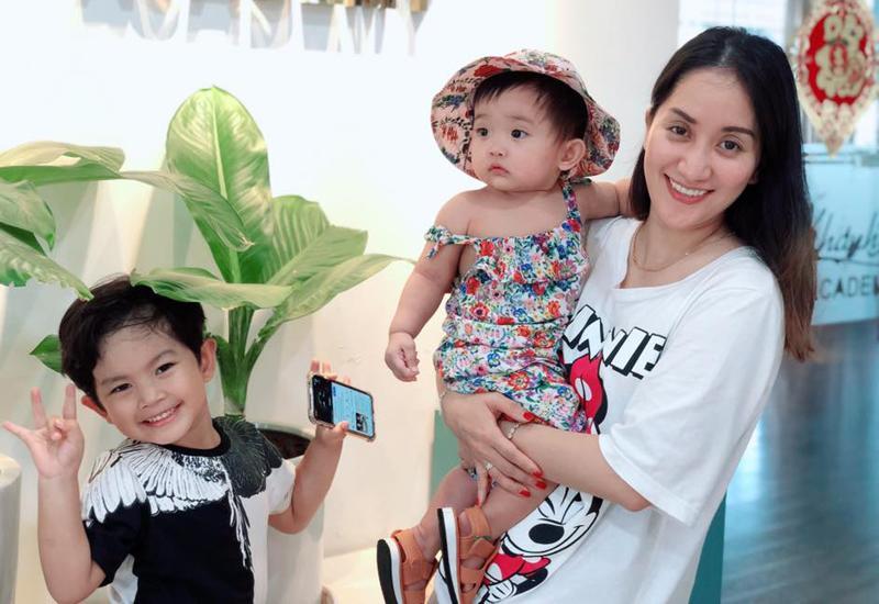 Hình ảnh xinh xắn của con gái Khánh Thi khiến ai cũng ngỡ ngàng-1