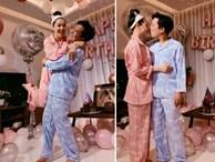 Rò rỉ hình ảnh tiệc sinh nhật Trường Giang: Danh hài ôm hôn, bế bổng Nhã Phương vô cùng hạnh phúc