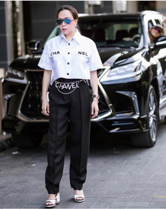 Phượng Chanel đụng hàng áo 50 triệu đồng với con gái Cindy Crawford-3