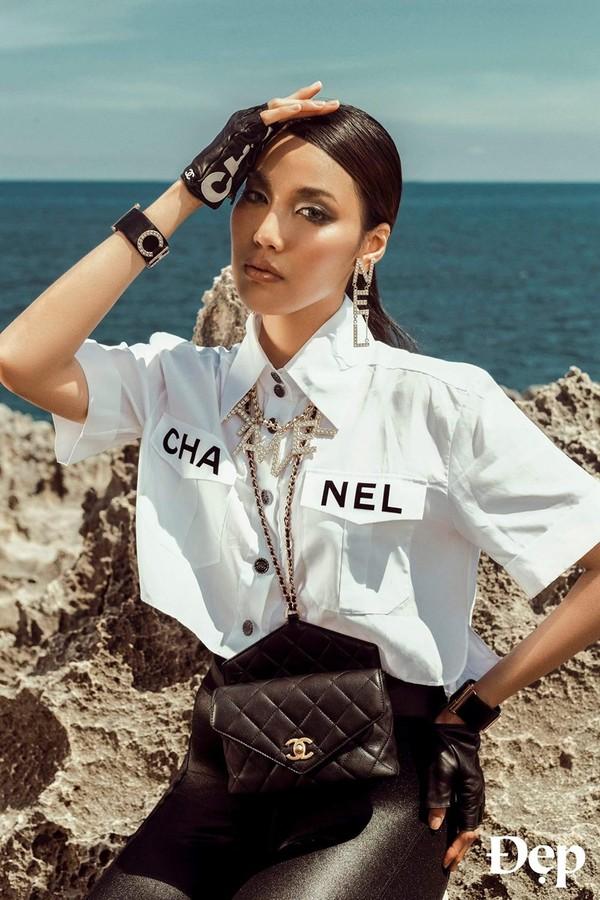 Phượng Chanel đụng hàng áo 50 triệu đồng với con gái Cindy Crawford-4