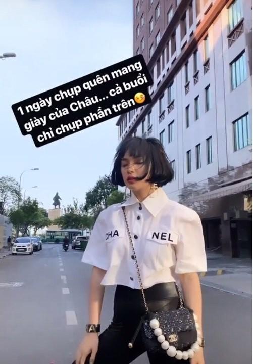 Phượng Chanel đụng hàng áo 50 triệu đồng với con gái Cindy Crawford-6