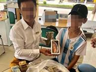 Cậu bé 16 tuổi mang 25 triệu tiết kiệm được trong 3 năm đi mua điện thoại khiến dân mạng tranh cãi