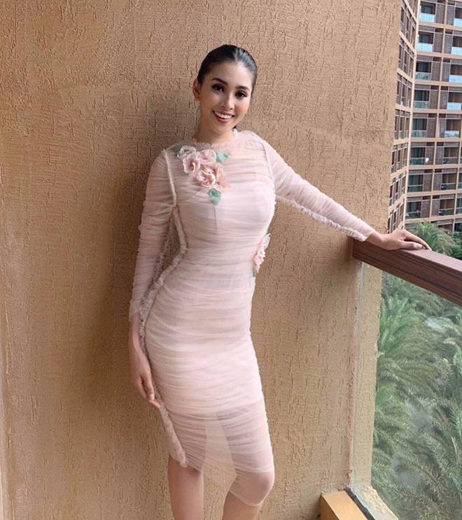 19 tuổi, Hoa hậu Tiểu Vy ngày càng chuộng phong cách gợi cảm-8