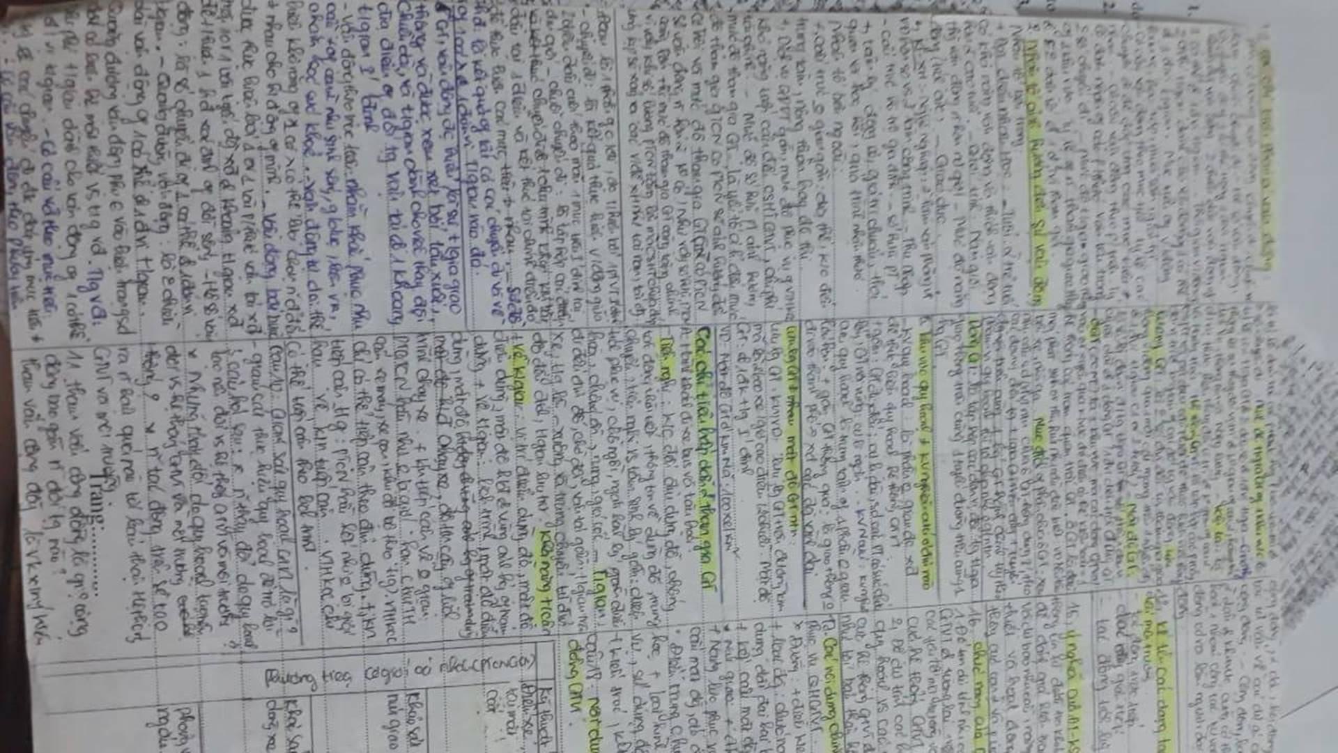 Giáo viên cho mang 1 tờ giấy ghi kiến thức vào phòng thi, sinh viên chép sương sương cũng được cả quyển sách!-2
