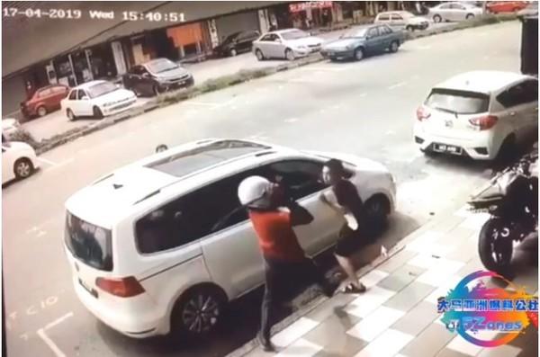 Vợ dũng cảm lao ra bảo vệ chồng khỏi kẻ biến thái tấn công bằng dao rựa giữa đường-2