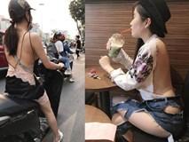 Vừa nắng nóng, 3 cô gái này đã mặc như không, 'lồ lộ' ra đường khiến nhiều người 'nóng mắt'