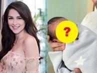 'Mỹ nhân đẹp nhất Philippines' lần đầu khoe ảnh cận mặt con trai: Sớm muộn cũng trở thành nam thần 'vạn người mê'