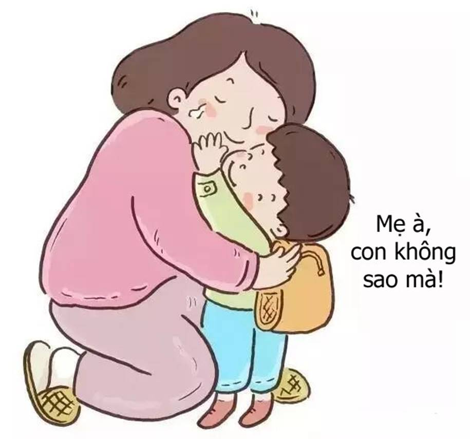 Bộ tranh cho thấy các mẹ nghĩ rằng mình yêu con nhất, nhưng không ngờ rằng bé còn yêu mẹ nhiều hơn thế-1