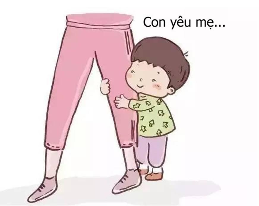 Bộ tranh cho thấy các mẹ nghĩ rằng mình yêu con nhất, nhưng không ngờ rằng bé còn yêu mẹ nhiều hơn thế-12