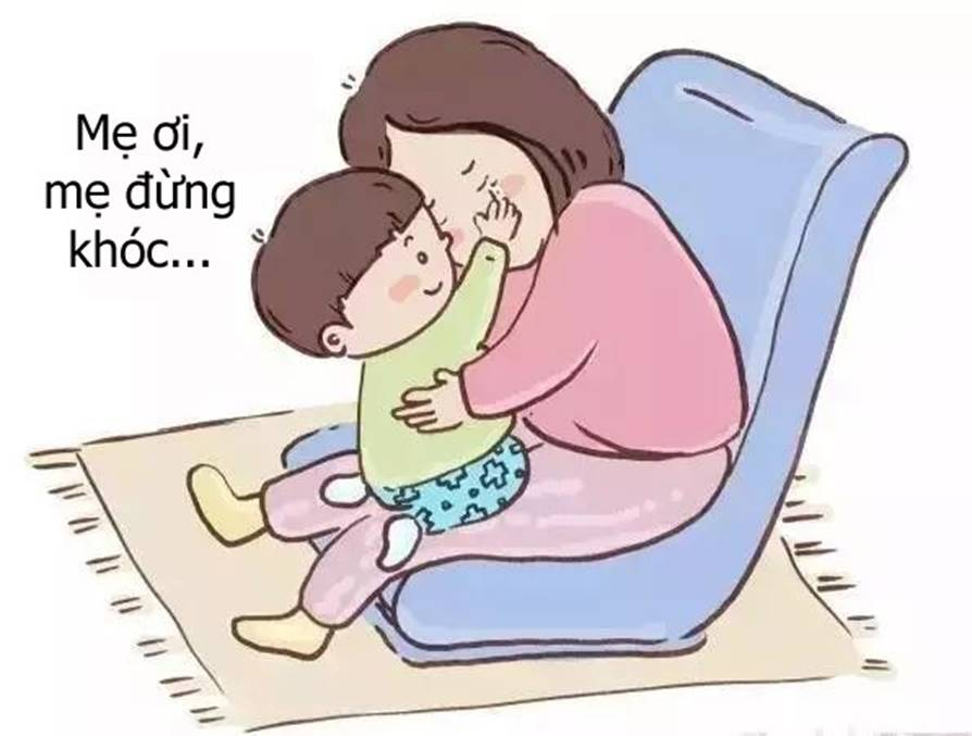 Bộ tranh cho thấy các mẹ nghĩ rằng mình yêu con nhất, nhưng không ngờ rằng bé còn yêu mẹ nhiều hơn thế-13