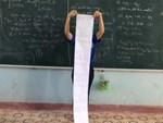 Làm bài kiểm tra, học sinh phát hiện ra thông điệp bí ẩn mà thầy giáo cài cắm vào khiến ai cũng ngã ngửa!-4