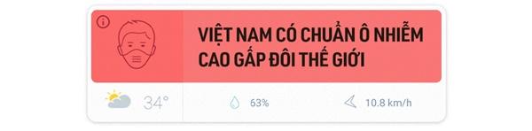 Chất lượng không khí Việt Nam ô nhiễm báo động: Đeo khẩu trang không mấy tác dụng-1