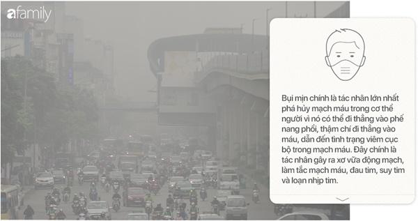 Chất lượng không khí Việt Nam ô nhiễm báo động: Đeo khẩu trang không mấy tác dụng-15