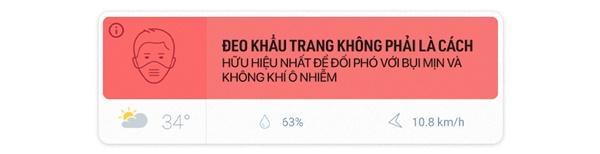 Chất lượng không khí Việt Nam ô nhiễm báo động: Đeo khẩu trang không mấy tác dụng-21