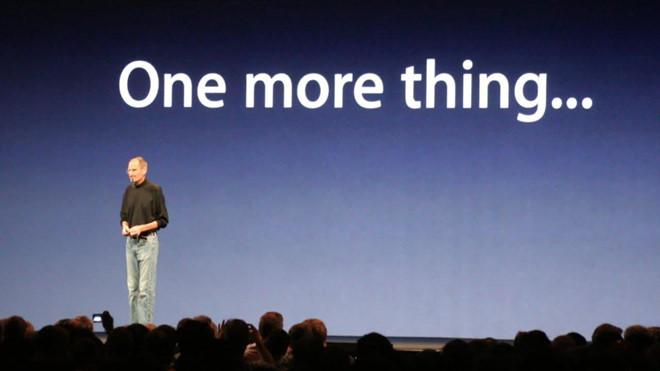 Apple thua kiện hãng đồng hồ chỉ vì câu nói One more thing-1