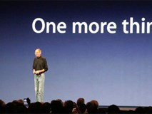 Apple thua kiện hãng đồng hồ chỉ vì câu nói 'One more thing'