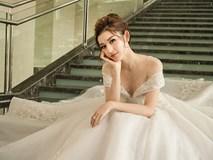 Á hậu Huyền My rạng rỡ dự event với váy cưới 2,5 tỷ đồng đính 500 viên kim cương