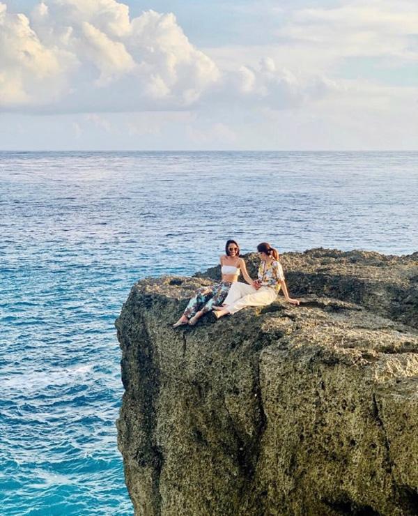 Kỳ Duyên diện đồ đôi, tổ chức sinh nhật bất ngờ cho Minh Triệu ở Bali-3