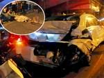 Hình ảnh đau xót: Con trai nữ công nhân môi trường gục khóc bên thi thể mẹ vụ ô tô tông liên hoàn ở Hà Nội-7