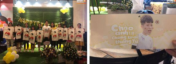 Đình Trọng được tổ chức sinh nhật sớm đầy ấm cúng bên Tư Dũng và các fan-2