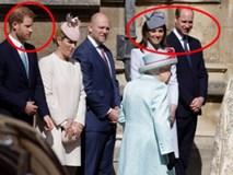 Hố sâu ngăn cách giữa hai cặp đôi hoàng gia: Hoàng tử Harry xuất hiện lẻ loi với vẻ mặt bất thường, có hành động khác lạ với vợ chồng Công nương Kate