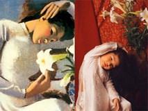 'Thiếu nữ bên hoa huệ' phiên bản bé gái tự ngã, tự nâng