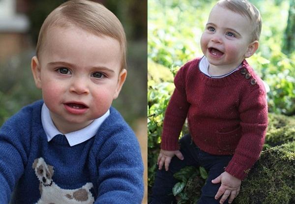 Tan chảy với loạt ảnh mới của Hoàng tử út Louis nhân dịp sinh nhật tròn 1 tuổi do chính Công nương Kate chụp tại vườn nhà của gia đình-3