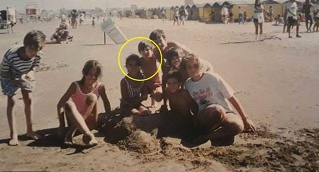 Bức ảnh tình yêu định mệnh từ khi Messi mới 10 tuổi-1