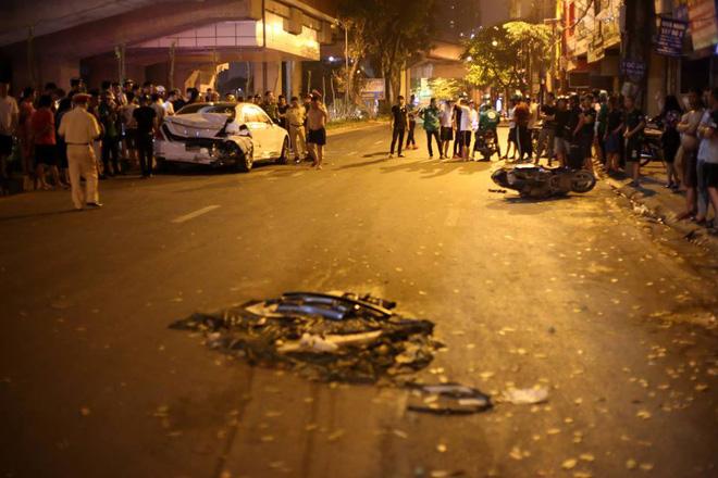 Vụ xe điên đâm liên hoàn khiến nữ công nhân tử vong ở Hà Nội: Tài xế khai gì ?-2