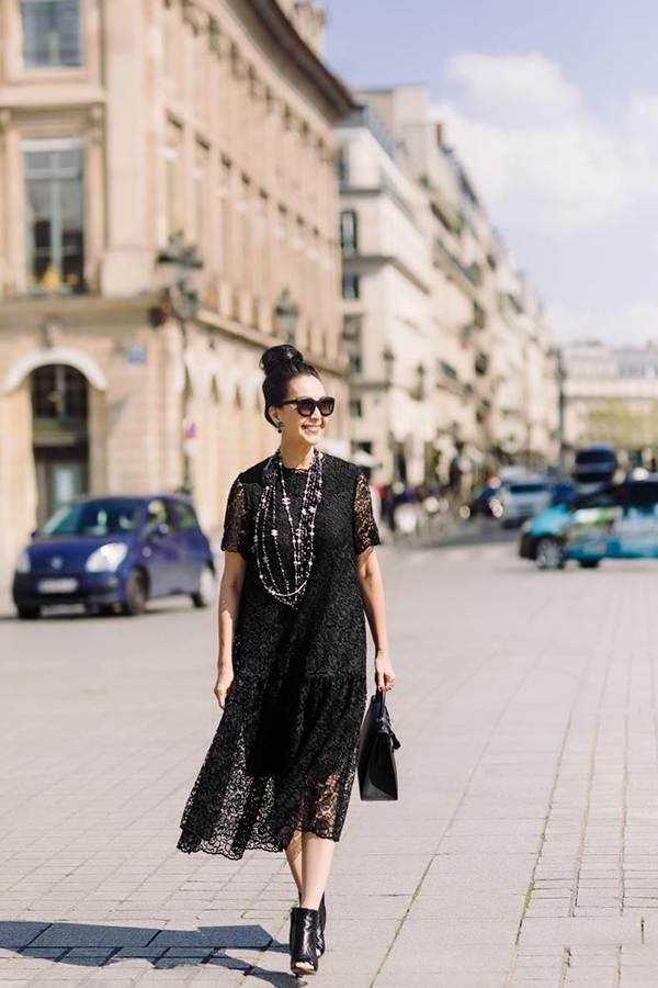 Diễm My 6X nổi bật với loạt túi hiệu tiền tỷ trên đường phố Paris-9