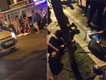 Tài xế nằm sùi bọt mép trong xe sau khi gây tai nạn ở Sài Gòn, nghi phê ma tuý-4