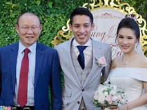 Thầy Park 'bí mật' mừng cưới Đỗ Hùng Dũng