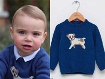 Điều thú vị về 2 chiếc áo Hoàng tử út mặc trong ảnh mừng sinh nhật: Một chiếc được