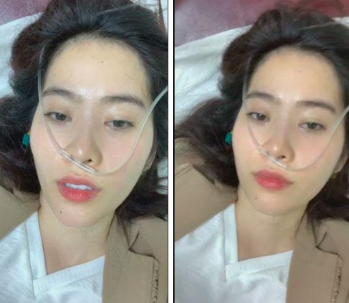 Nhập viện giữa đêm, mũi đeo máy thở mà Nam Em vẫn còn tâm trí livestream kêu gọi dân mạng yêu thương mình-1
