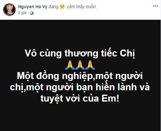 Sao Việt xót xa đau đớn trước thông tin người mẫu Như Hương qua đời ở tuổi 37 vì ung thư-3