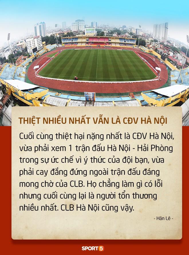 Fan Việt tranh cãi nảy lửa chuyện sân Hàng Đẫy bị treo vì CĐV Hải Phòng đốt pháo sáng-1